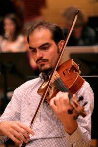 Arnaud Ghillebaert, violist