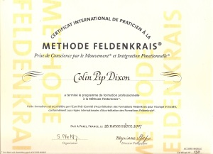 Feldenkrais Certification by EuroTAB (European and Israeli Feldenkrais Training and Accreditation Board)
